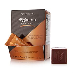 Picture of Triple Gold Caramel Squares (20ct)